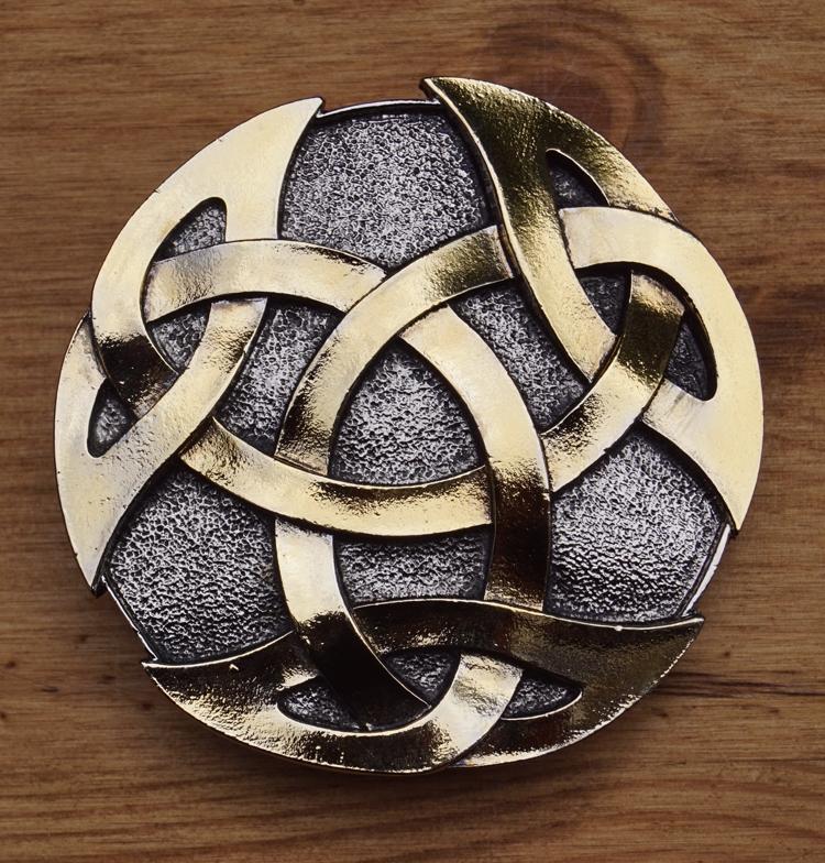 """Belt Buckle  """" Celtic knot """"    UITVERKOCHT"""
