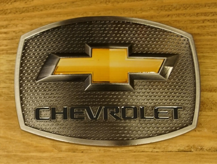 "Belt buckle  "" Chevrolet """