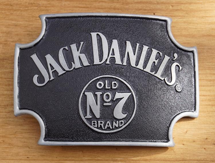 "Belt buckle  "" Jack Daniel's Old no 7 brand """