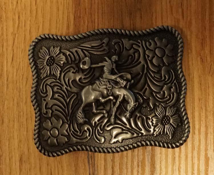 """Belt buckle  """" Rodeo """""""