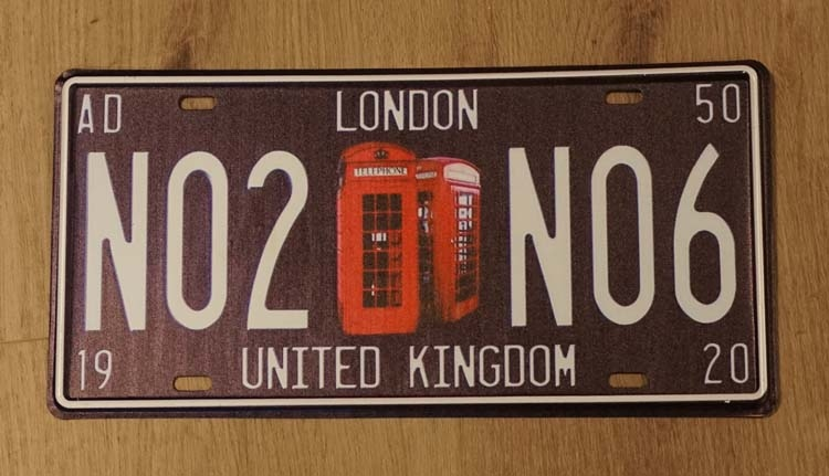 "Billboard  "" London NO2 NO6 United Kingdom "" telefooncel"