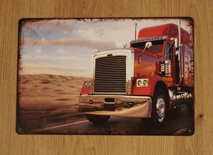"""Billboard  """" Rode vrachtwagen """""""