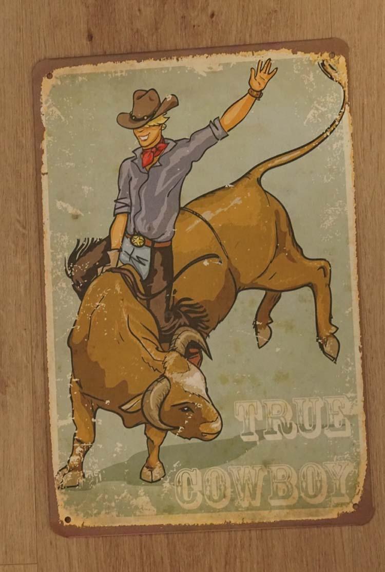 "Billboard  "" True cowboy """