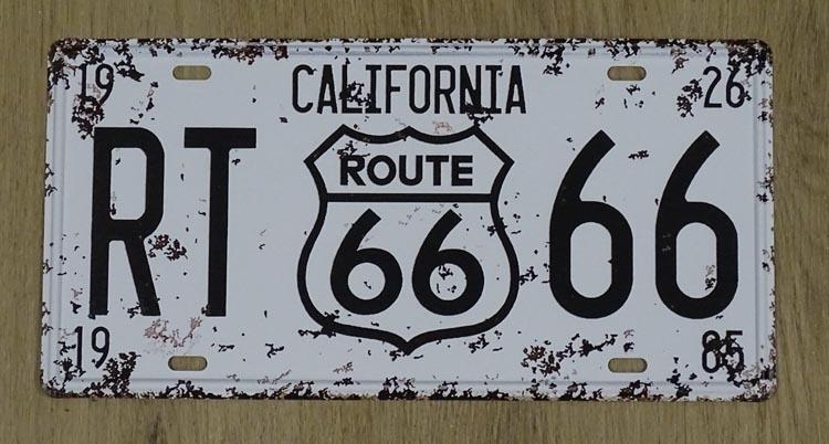 """Billboard """" California route 66 """""""