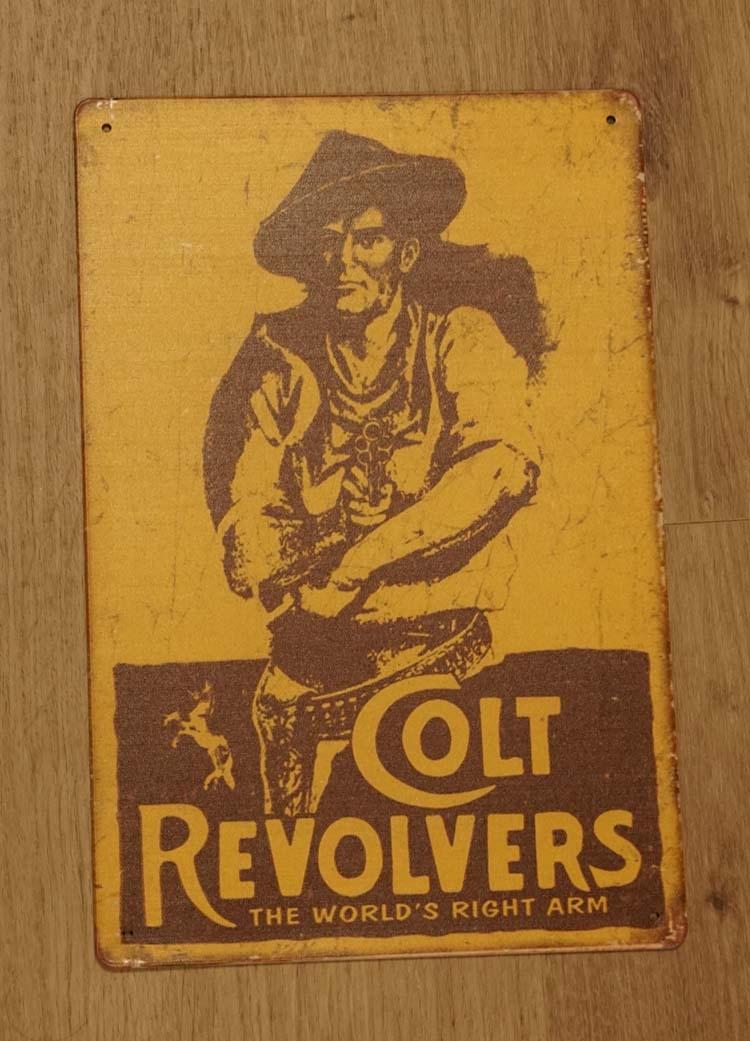 "Billboard  ""Colt revolvers """