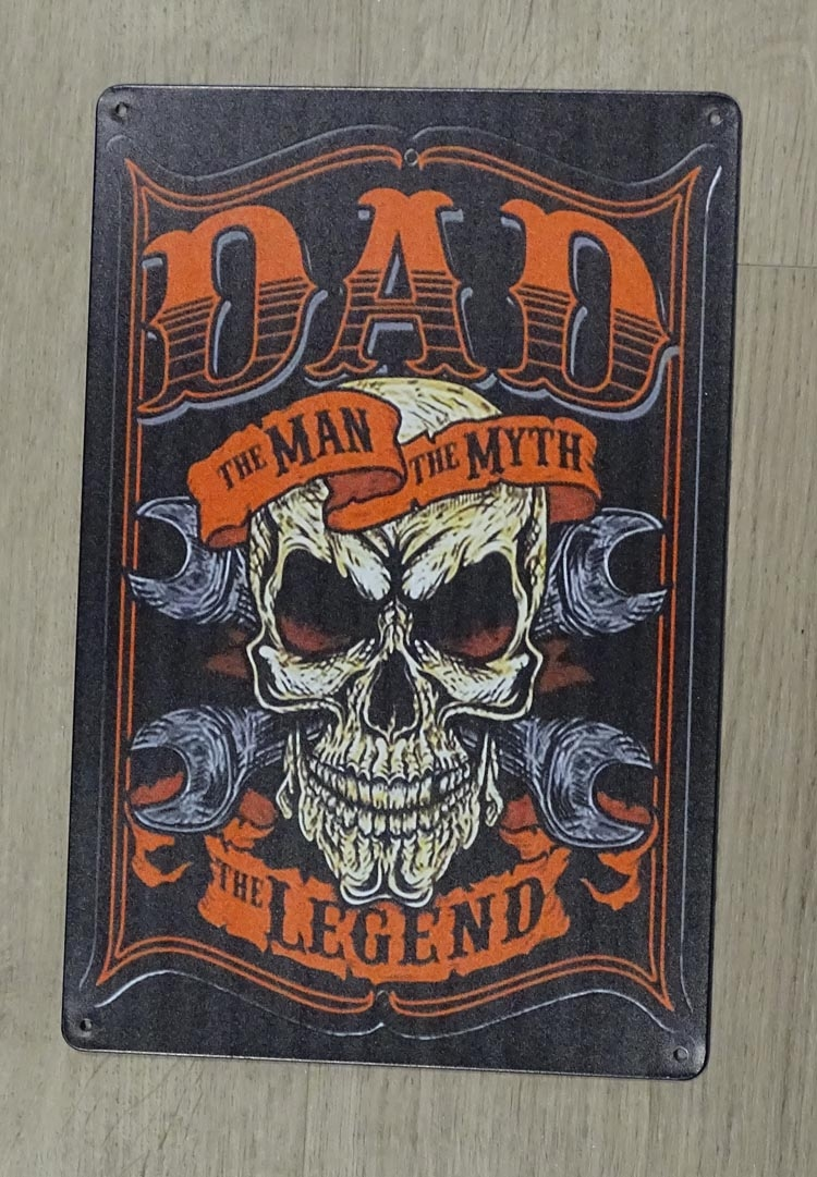 "Billboard "" Dad the man, the myth, the legend """