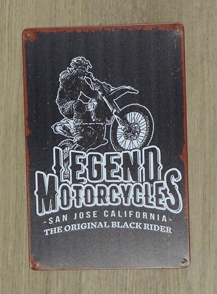 "Billboard "" Legend motorcycle san jose California """
