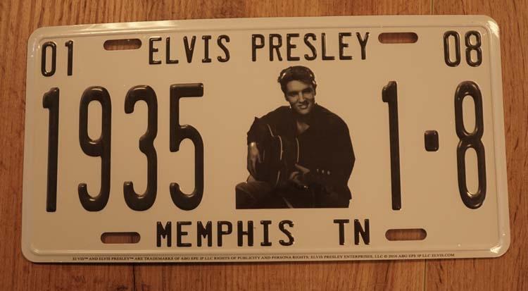 """Billboard / nummerrplaat  """" Elvis Presley 1935 """""""
