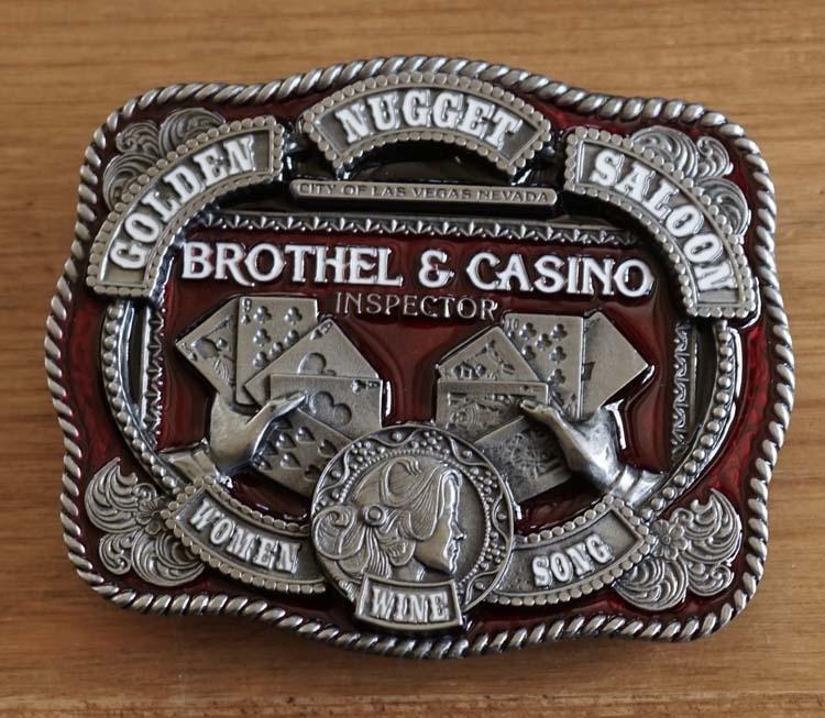"""Buckel """" Brothel & casino inspector """""""