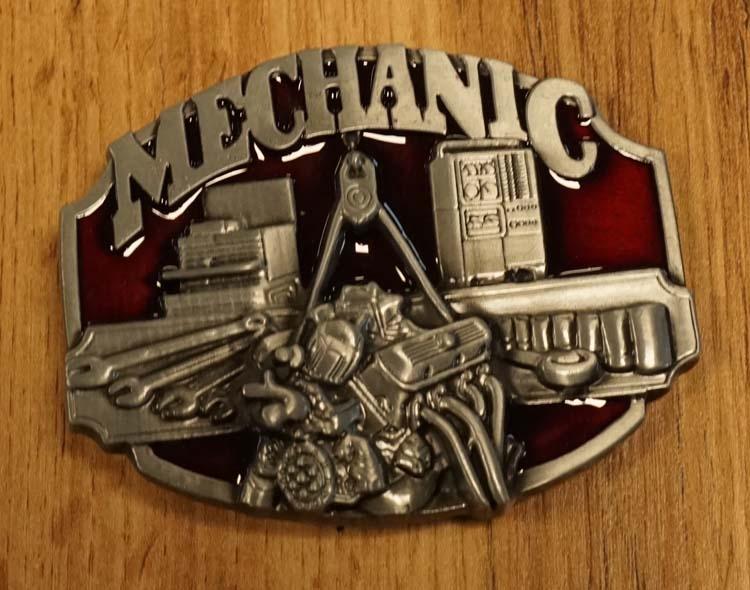 """Buckle  """" Mechanic """"  ( Monteur )"""