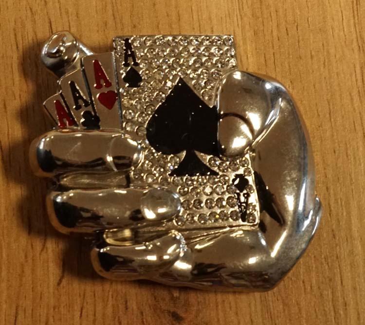 """Buckle """"  Pokerhand """""""