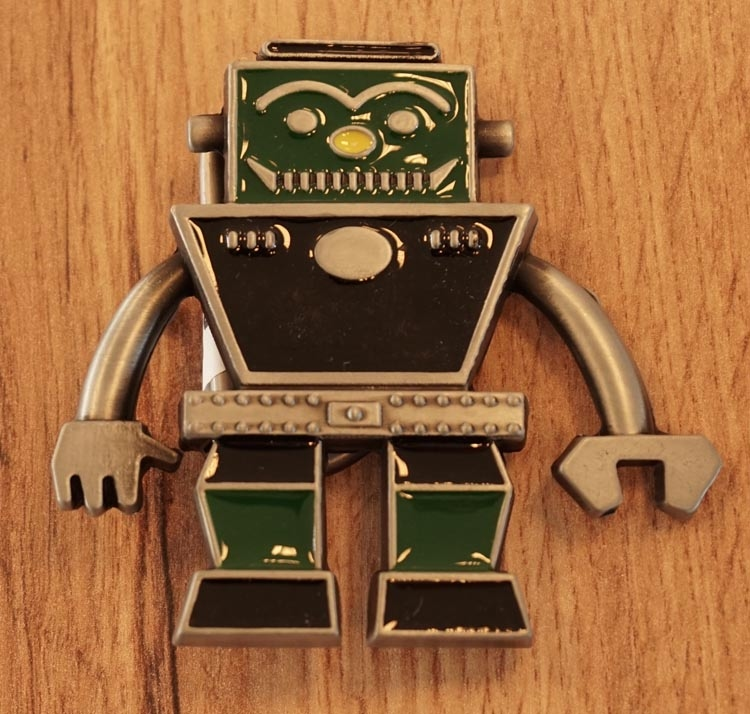 "Buckle  "" Robot """