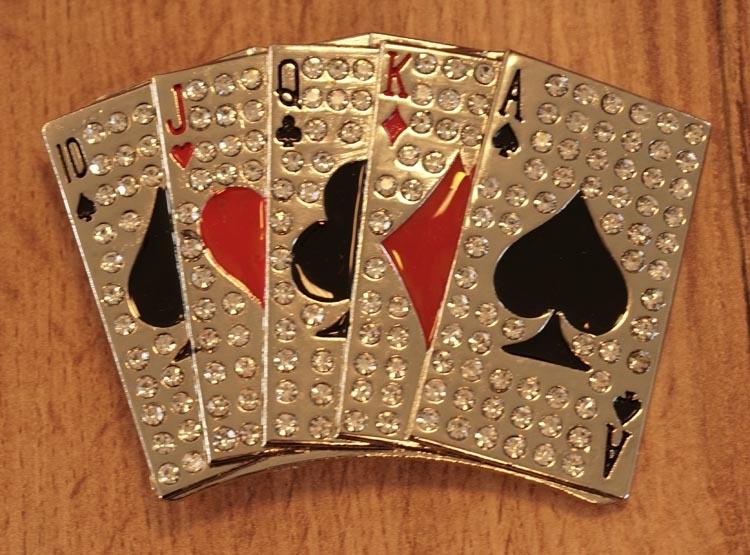 "Buckle ""  Speelkaarten ""  glitter"