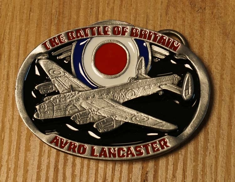 "Buckle  "" The battle of Britain  Avro Lancaster  """