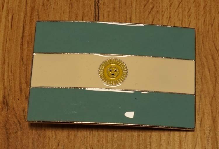 "Buckle  "" Vlag van Argentinië """