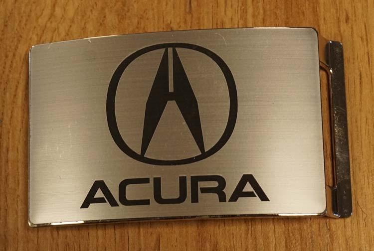 """Buckle """" Acura  """"   zilverkleurig"""