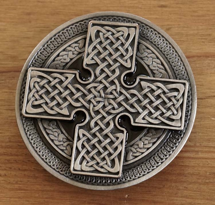 "Buckle  ""Celtic cross """
