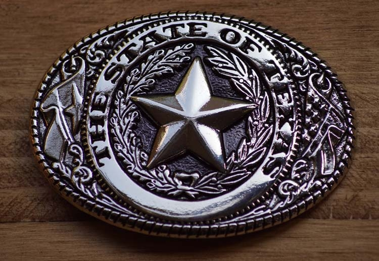 """Buckle / gesp  """"  The state of Texas """""""