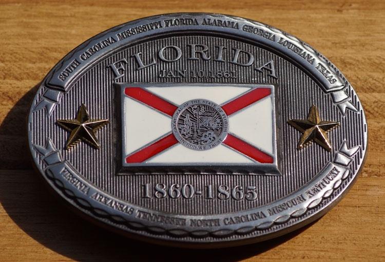 "Buckle / gesp  "" Florida 1860 - 1865 """