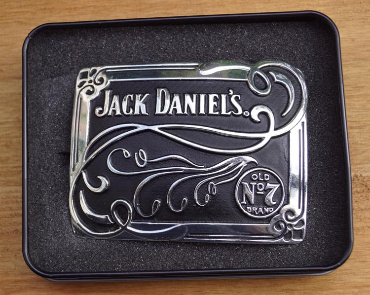 "Buckle / gesp  "" Jack Daniel's old no 7 brand ""  Sierwerk"