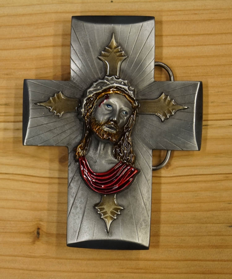 """Buckle / gesp  """" Jezus aan kruis """""""
