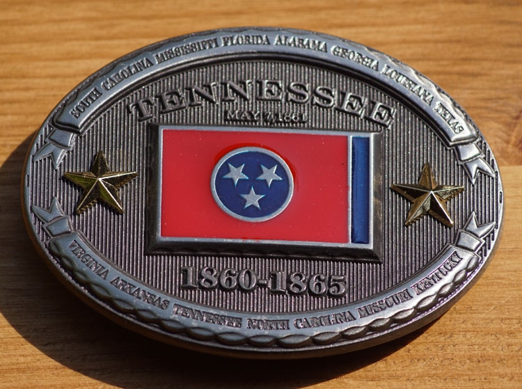 """Buckle / gesp  """" Tennessee 1860 - 1865 """""""