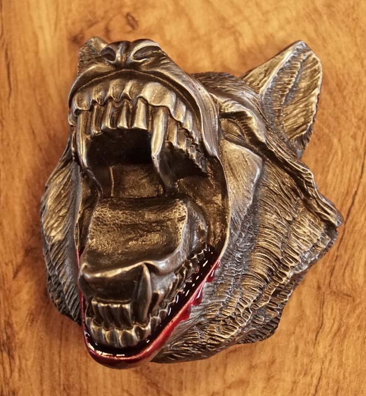 """Buckle / gesp  """" Weerwolf """""""