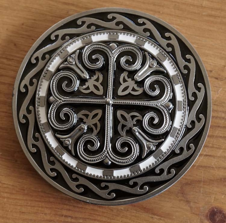 "Buckle / gesp  ""Celtic cross """