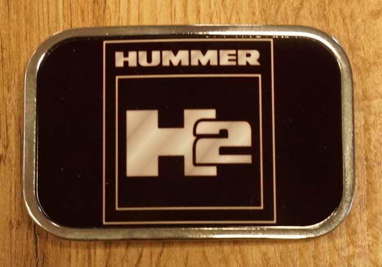 """Buckle """" Hummer """"  zwart"""
