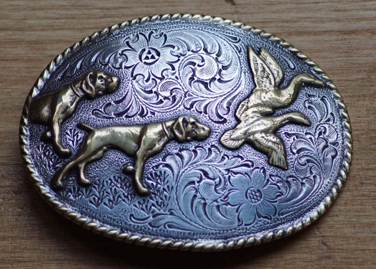 "Buckle "" Hunting dogs """