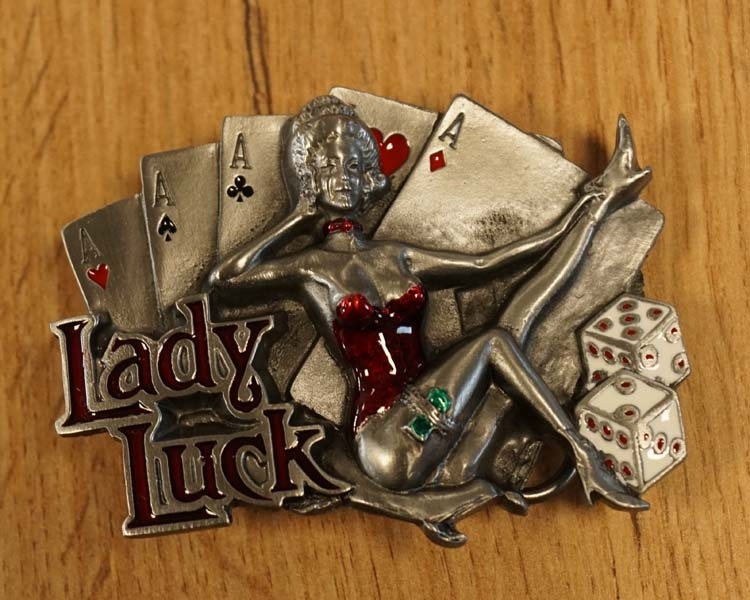 """Buckle """" Lady luck """""""