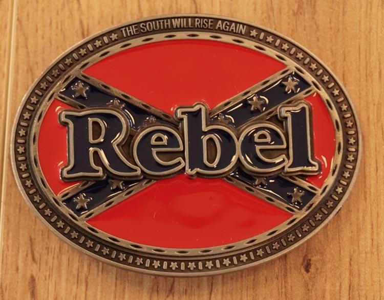 "Buckle "" Rebelvlag ""   Achtergrond rebelvlag"