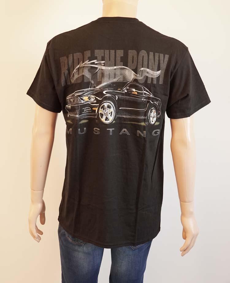 """T-shirt met korte mouwen  """" Mustang ride the pony """""""
