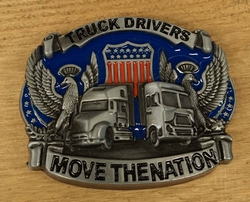 "Riem gesp  "" Truck driver move the nation ""  UITVERKOCHT"