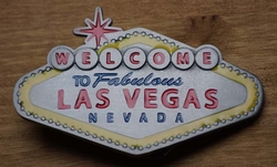 "Belt buckle  "" Welkom in sprookjesland Las Vegas"