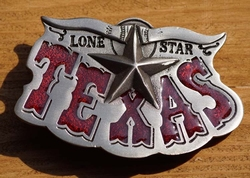 "Western buckle  ""  Lone star Texas """