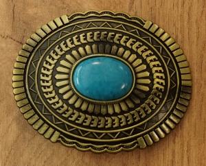 """Buckle / gesp """" Rebel + Americaanse vlag, biddende indiaan"""""""