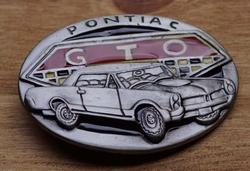"""Verzamel buckle  """" Pontiac GTO """""""