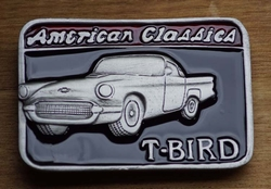 "Verzamel buckle  "" American Classic  T-Bird """