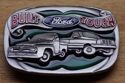 "Verzamel buckle  "" Built Ford tough  """