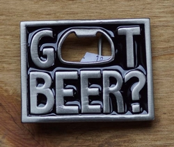 "Opener buckle  "" Got Beer ""   Haal bier"