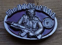 "Koppel gesp  "" The dogs of war ""  ( Commando )"