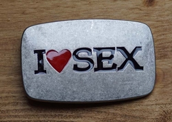 Sex gesp buckle