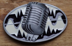 "Muziek gesp  "" Microfoon """