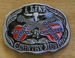 """Country Buckle  """" I like country music """""""