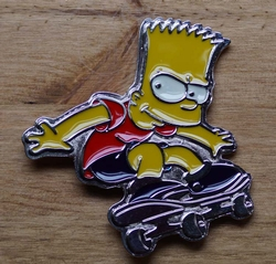"Gesp buckle  "" Bart Simpson """