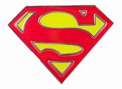 """Gesp buckle  """" Superman """"   Geel / rood"""