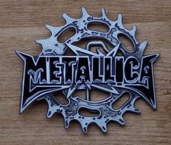 """Losse gesp  """" Metallica """"    UITVERKOCHT"""