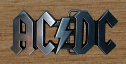 "Music buckle belt  "" AC / DC """