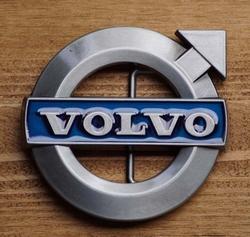 """Automerk buckle  """"  Volvo """"   UITVERKOCHT"""